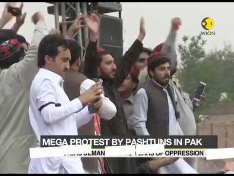 Mega protest by Pashtuns on Pakistan demanding end to years of oppression