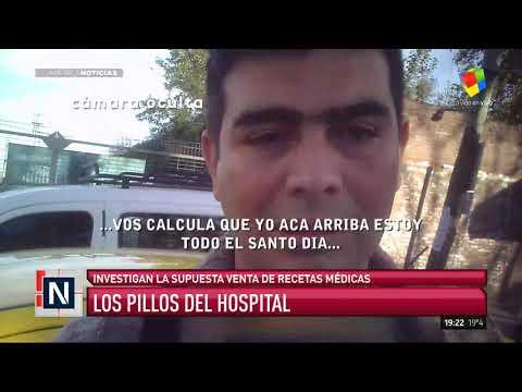 Peligro: recetas truchas en los hospitales