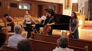 Josef Gingold Chamber Music Festival Virtuosi - Mozart's Piano Quartet in G minor - 2019 July 13