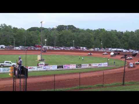 Bloomington Speedway   5.26.17   Non Wing Sprints   Josh Burton Memorial   Heat 3