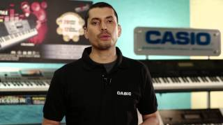 Casio CTK 6300IN : How to Use Audio IN Terminal Feature on Casio 6300IN Electronic Music Keyboard