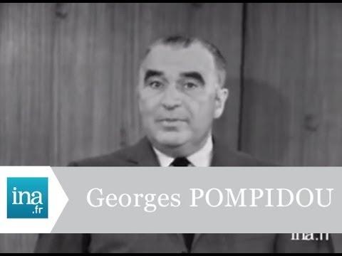 Georges Pompidou campagne électorale 1969  - Archive vidéo INA