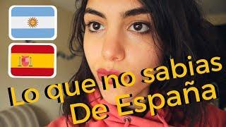 15 cosas que me sorprendieron de ESPAÑA (siendo ARGENTINA)