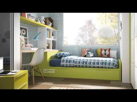 Habitaciones juveniles bonitas youtube for Habitaciones juveniles
