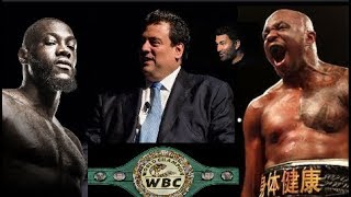 DILLIAN WHYTE BLASTS THE WBC FOR ALLOWING DEONTAY WILDER TO MENTION KILLING OPPONENTS!!