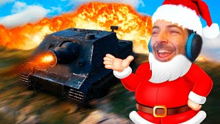 DANDO REGALOS CON MI TANQUE!! XDDD - WORLD OF TANKS - Nexxuz