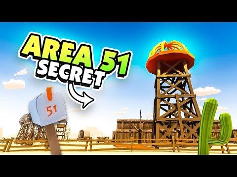 WHAT'S HIDING IN AREA 51!?  - Desert Skies Gameplay (Raft Clone)