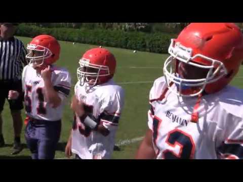 Middle School Football - BENJAMIN BUCCANEERS vs.  BOCA RATON CHRISTIAN BLAZERS