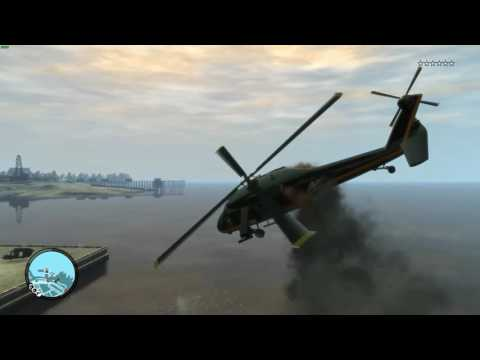 The Annihilator From GTA IV Was Over Powered Because It Had Explosive Rounds