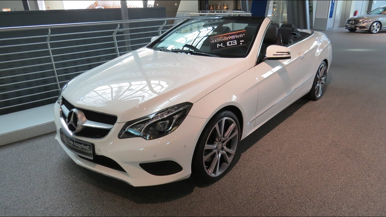 2015 mercedes benz e 250 cabriolet sport package youtube. Black Bedroom Furniture Sets. Home Design Ideas