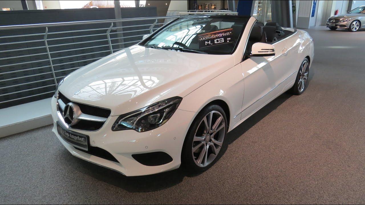 2015 mercedes benz e 250 cabriolet sport package youtube for Mercedes benz e 250