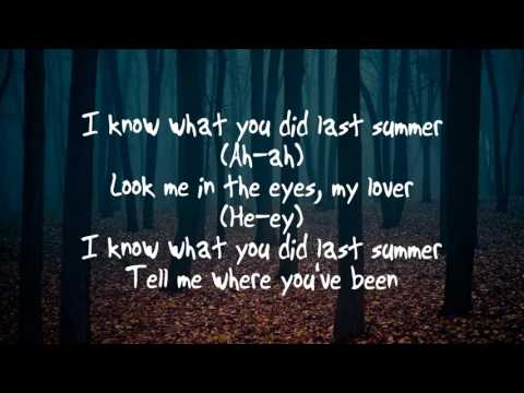 Shawn Mendes & Camila Cabello - I Know What You Did Last Summer LYRICS (Cover)