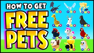 How To Get FREE PETS in ADOPT ME HACK! (WORKING 2020!!) Plus *FREE Fly Potions* Adopt Me Roblox