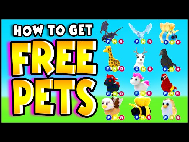 How To Get Free Pets In Adopt Me Hack Working 2020 Plus Free Fly Potions Adopt Me Roblox Youtube