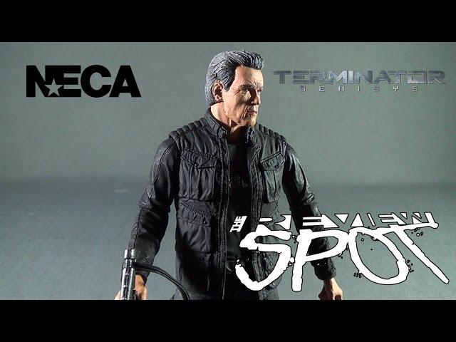 Toy Spot - NECA Terminator Genisys T-800 Guardian Pops Version