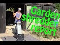 Garden Shredder Report - Reviewing the Titan Rapid Shredder 2500W