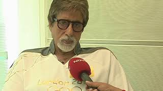 VIMAL MOHAN Amitabh Bachchan NDTV INDIA LONDON Olympics INERVIEW 2012
