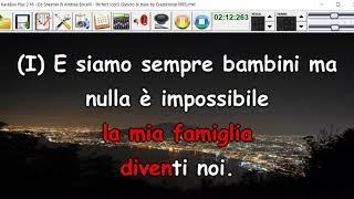 Ed Sheeran & Andrea Bocelli - Perfect (cori) (Syncro by CrazyHorse1965) Karabox - Karaoke