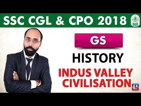 History | Indus Valley Civilisation | General Studies | SSC CGL | CPO 2018