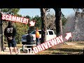 """""""LEFTOVER ASPHALT"""" SCAM! SCAMMERS CAUGHT ON CAMERA!! They SCREWED US!"""