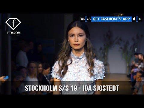 Stockholm Fashion Week S/S 19 - Ida Sjostedt | FashionTV | FTV