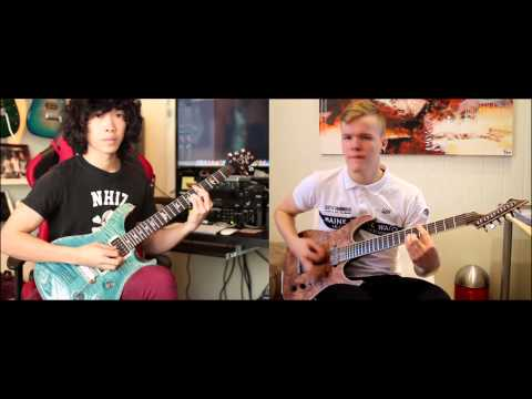 Intervals - Momento (Dual Guitar Cover With Reidar)