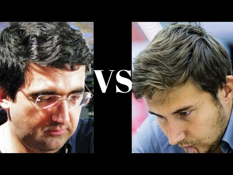 How to sacrifice the exchange! Vladmir Kramnik vs Sergey Karjakin - World Ch Candidates 2014