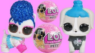 NEW LOL PETS Wave 2 Dressup in Dollhouse Glitter
