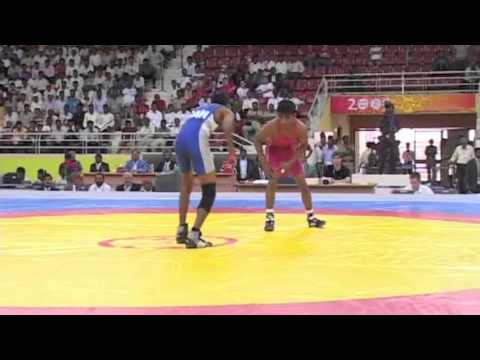 2008 Commonwealth Youth Games: 42 kg Ajit Patil (IND) vs. Jonathon Babulall (CAN)
