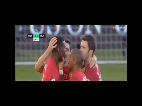 Download Swansea vs Manchester United 1-3 All Goals Premier League 06-11-2016