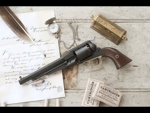 Shooting the Pedersoli Remington percussion revolver