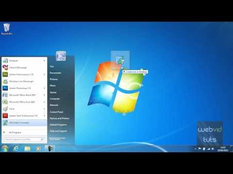 Chapter 1 - Windows 7 - Creating desktop shortcuts (3)