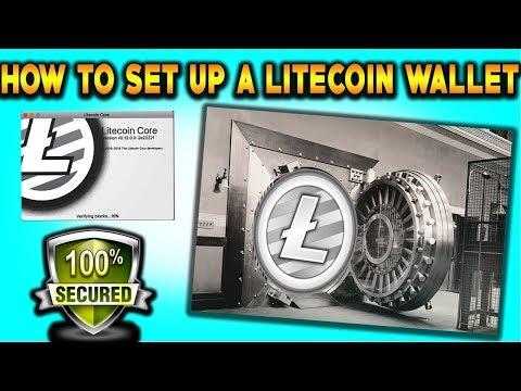 How To Setup A Litecoin Wallet (Beginner's Guide)