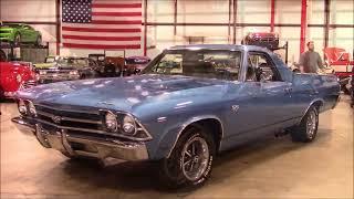 1969 Chevy El Caminio Blue
