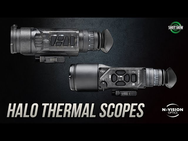 N-Vision Optics HALO Thermal Scopes - SHOT Show 2019