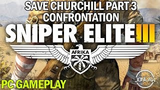Sniper Elite 3 Walkthrough - CONFRONTATION DLC - Full Let