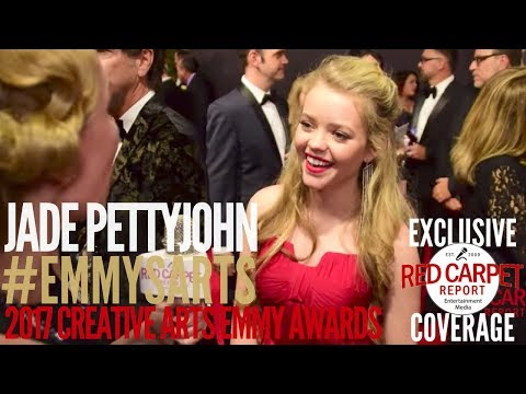 Jade Pettyjohn #SchoolofRock interviewed at the 2017 Creative Arts Emmys Red Carpet #EmmysArts