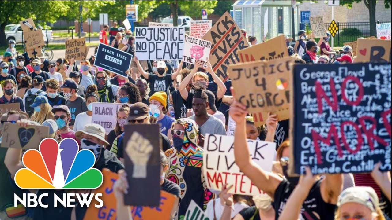 Live: Protests Over George Floyd's Death | NBC News