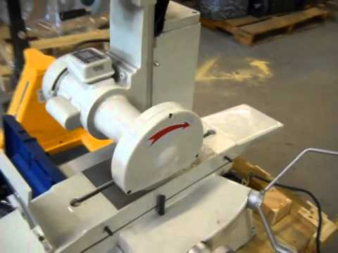 6 Quot X 12 Quot Bench Surface Grinder 43047 Youtube