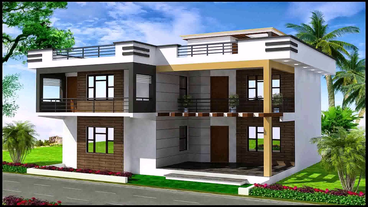 Duplex House Plans Gallery In India