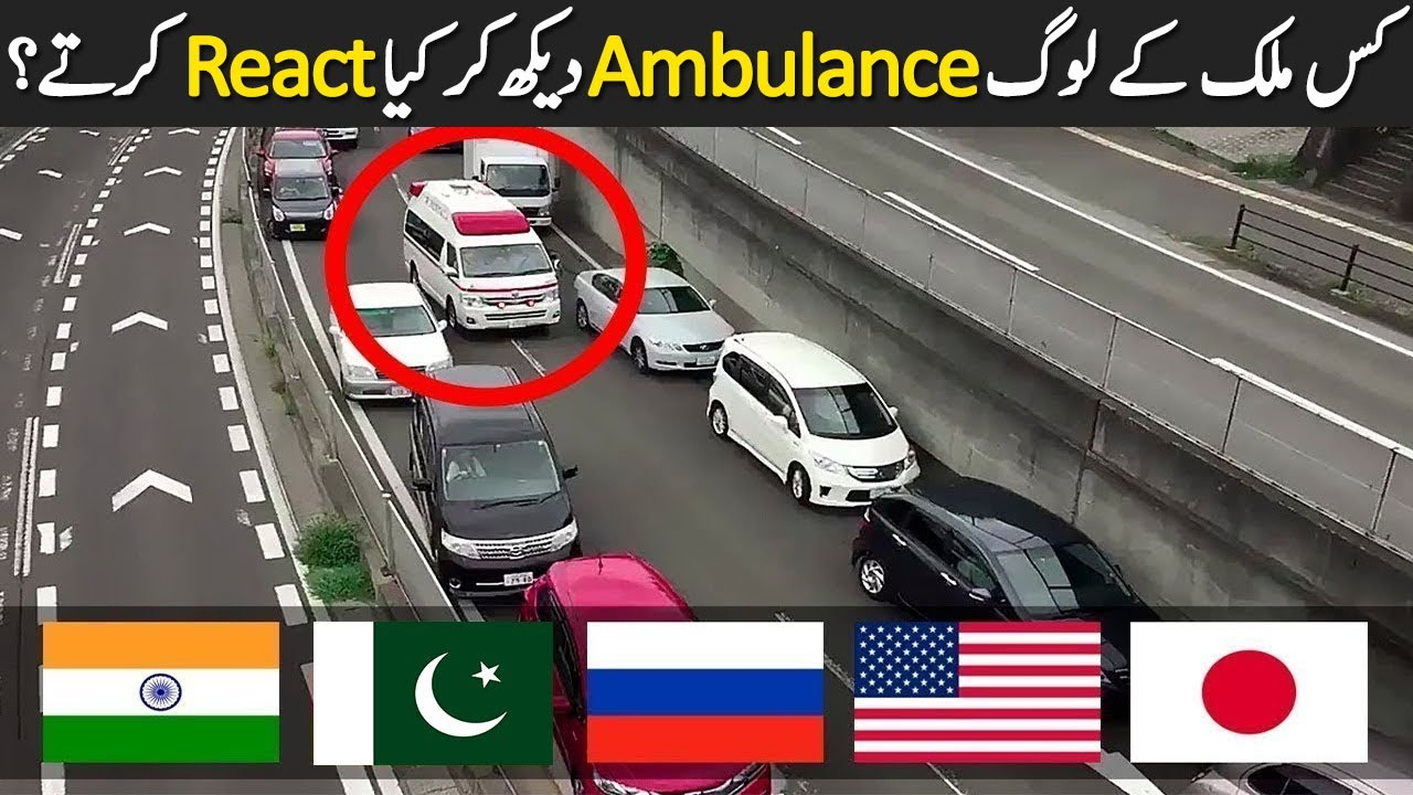 How People Of Different Countries React To Ambulance