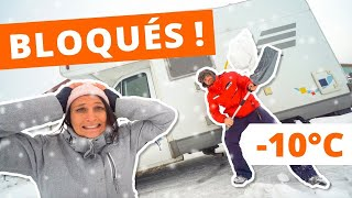 We test our CAMPER VAN in winter! 🥶