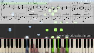 Here There And Everywhere - Piano Cover - Tutorial - PDF(, 2018-05-16T14:54:39.000Z)