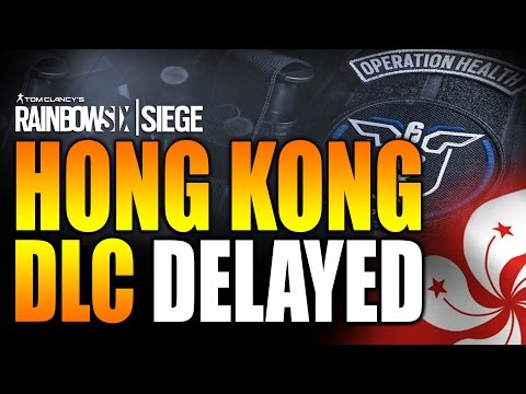 Rainbow Six Siege - In Depth: HONG KONG DLC DELAYED! NO SEASON 2 MAPS OR OPS!!