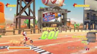 Joe Danger 1 and Joe Danger 2: The Movie PC - Softpedia Gameplay