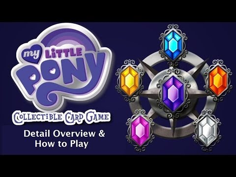 How to Play the My Little Pony CCG (Card Game)