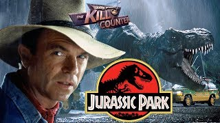 JURASSIC PARK - The Kill Counter (1993) Steven Spielberg, Michael Crichton dinosaur adventure movie
