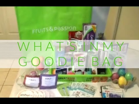 What's in My Goodie Bag? 🛍