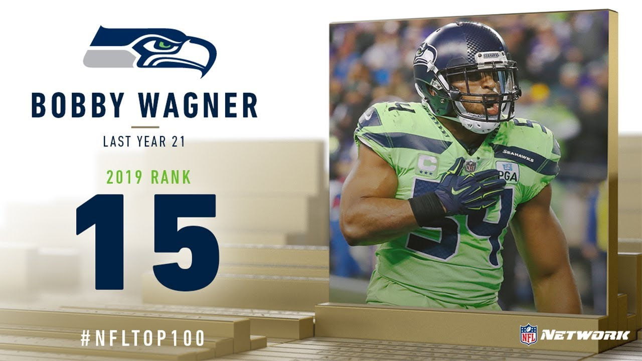 #15: Bobby Wagner (LB, Seahawks) | Top 100 Players of 2019 | NFL