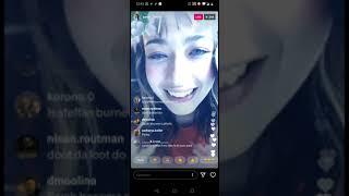 Sarah bonito live on Instagram (july 15, 2020)